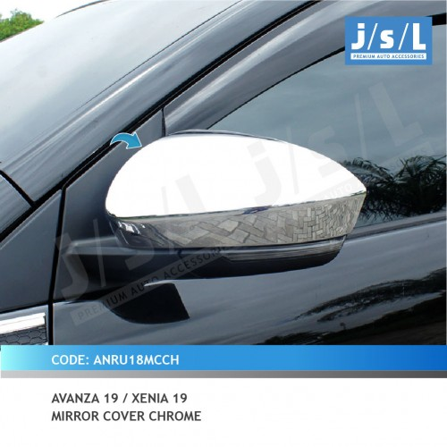 AVANZA 19 / XENIA 19 MIRROR COVER CHROME