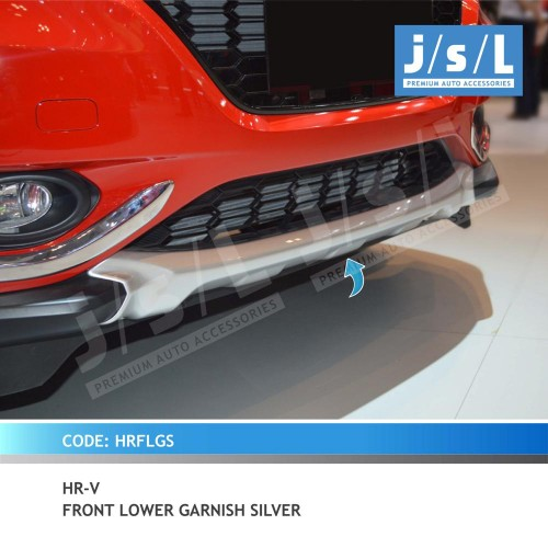 HRV FRONT LOWER GARNISH SILVER