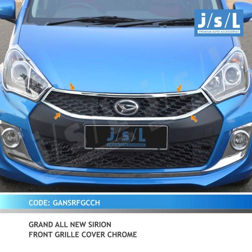 GAN SIRION FRONT GRILLE COVER CHROME