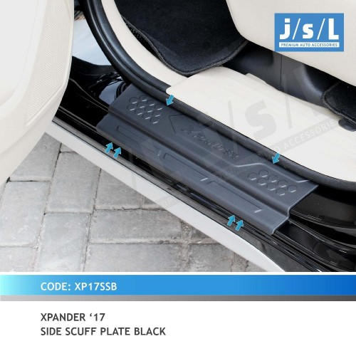 XPANDER 17 SIDE SCUFF PLATE BLACK
